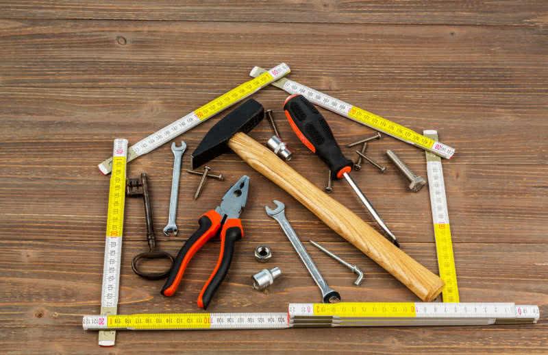 Hausmeisterwerkzeug Hauswart KMPLUS