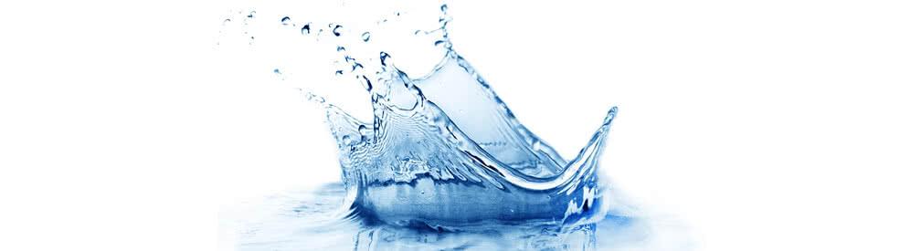 Wasserspritzer zur Reinigung